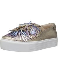 Kenneth Cole Jayson Slip On Platform Sneaker Pom Le Fashion - Multicolor