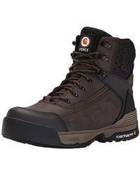 acd0e04a61c68 Carhartt - 6 Composite Toe Waterproof Work Boot (dark Brown) Men s Work  Boots -