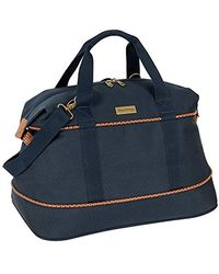 Tommy Bahama Large Weekend Overnight Duffel Travel Bag - Blue