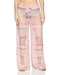 Kenneth Cole - Cover Up Beach Pant - Lyst