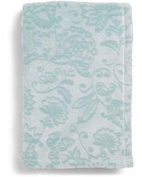 Vera Bradley Fleece Plush Throw Blanket D Cor - Blue