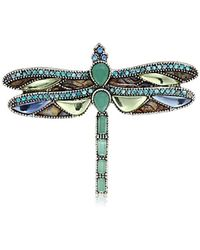Napier - Multi-colored Dragon Fly Brooches And Pin - Lyst