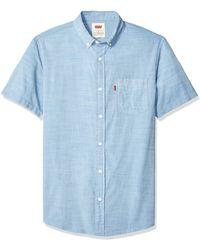 Levi's Short Sleeve - Blau