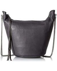 Ash - Phoebe Cross-body Bag, Elephant - Lyst