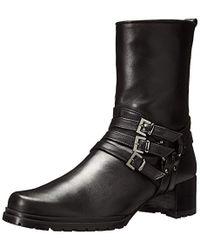 ca909513d6b6 Lyst - Jimmy Choo Harley Flat Ankle Boot in Black