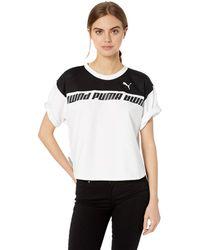 PUMA Modern Sports Sweat T-shirt - Black
