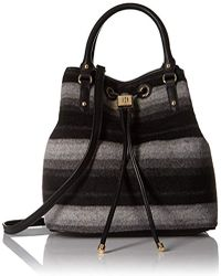 Tommy Hilfiger Tote Bag For With Drawstring Hannah - Black