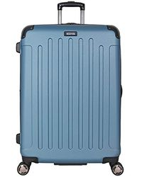 "Kenneth Cole Reaction Renegade 16"" Hardside Expandable 4-wheel Spinner Mini Carry-on Luggage - Blue"