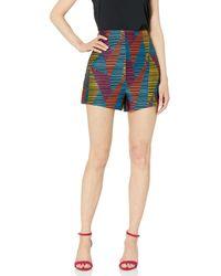 BCBGMAXAZRIA Bcbg Geo Striped Short - Multicolor