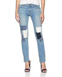 James Jeans Neo Beau Slim Fit Boyfriend Jean In Uniquified - Blue