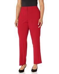 Nine West Skinny Stretch Pant - Red