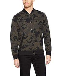 Calvin Klein - Jeans Camo Baseball Jacket - Lyst