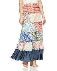 Johnny Was - Mixed Print Tier Skirt - Lyst