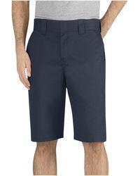 Dickies 11 Inch Regular Fit Stretch Twill Work Short - Black
