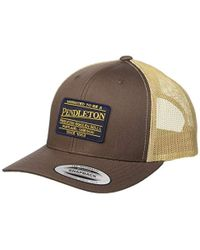 9a06f458 Pendleton - Large Patch Trucker Hat - Lyst