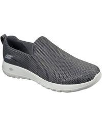 Skechers Mens Go Walk Max-athletic Air Mesh Slip On Walking Shoe,black,15 Eee Us - Multicolor