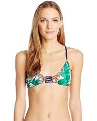 Sperry Top-Sider Top-sider Tendencies Tropical Bralette Bikini Top - Green