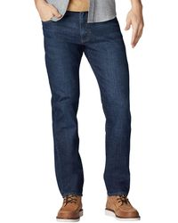 Lee Jeans Performance Series Extreme Motion Straight Fit Tapered Leg Jean - Blue