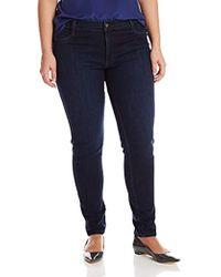 a423194fe James Jeans - Plus-size Leggy Z Faux Legging Jean In Kensington - Lyst