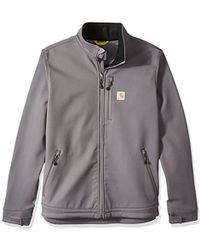 Carhartt Big & Tall Crowley Jacket - Gray