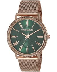 Vince Camuto Dress Watch (model: Vc/5380gnrg) - Green