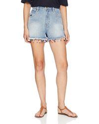 MINKPINK Fiesta Tassel Shorts - Blue