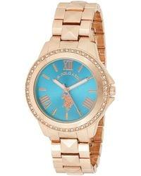 U.S. POLO ASSN. Usc40079 Rose Gold-tone Bracelet Watch - Metallic