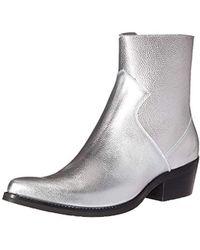 Calvin Klein - Alden Tumbled Leather Fashion Boot, - Lyst