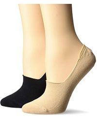 Keds - 2 Pack Low Vamp Sneaker Socks, Nude Assorted, 9-11 - Lyst