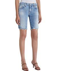 AG Jeans Nikki Skinny Leg Short - Blue