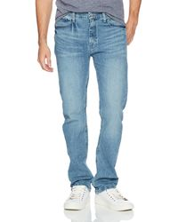 Nautica 5 Pocket Straight Fit Stretch Jean - Blue