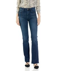 Sam Edelman Stiletto High Rise Bootcut Jean - Blue