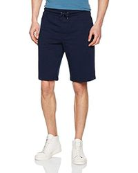 Armani Jeans - Regular Fit French Terry Logo Print Sweat Short - Lyst