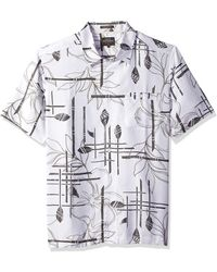 Quiksilver Waterman Paddle Out Woven Top - White