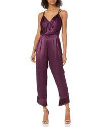 Ali & Jay Body Heat Jumpsuit - Purple