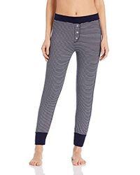 Three Dots - Ht6170 Feeder Stripe Pajama Bottom - Lyst