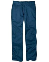 Dickies - Relaxed Fit Cotton Flat Front Pant - Lyst
