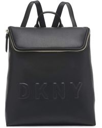DKNY Tilly Md Tz Backpack - Black
