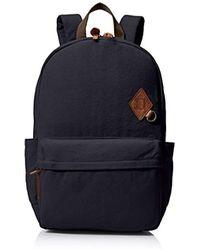 Alternative Apparel Basic Cotton Computer Backpack - Blue