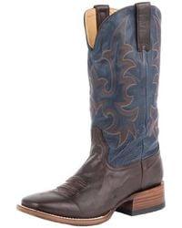 Stetson Lead Plumb 2 Western Boot - Brown