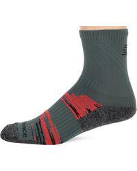 New Balance 1 Pack Trail Running Short Crew Socks - Multicolor