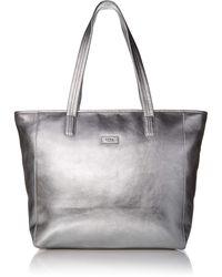 UGG Alina East/west Leather Tote - Metallic