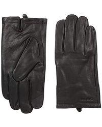 Calvin Klein - Leather Gloves - Lyst