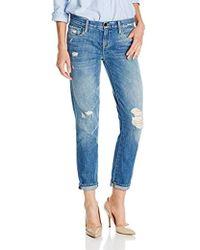 Genetic Denim - Genetic Alexa Skinny Straight Crop Jean In Cruise - Lyst
