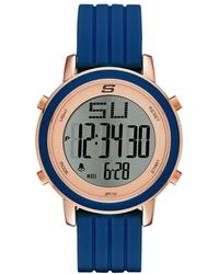 Skechers Sr6035 Analog Display Quartz Blue Watch