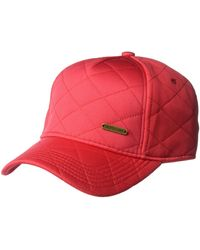 U.S. POLO ASSN. Quilted Jersey Baseball Cap - Red