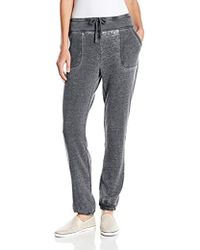 Marc New York Marc New York Performance Closed Distressed Fleece Sweatpant - Gray