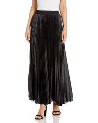 BCBGMAXAZRIA Pleated Maxi Skirt - Black