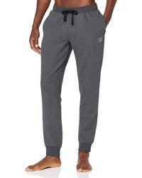 Emporio Armani Iconic Terry Sweatpants - Gray
