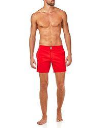 Vilebrequin Merise Solid Swim Trunk - Red